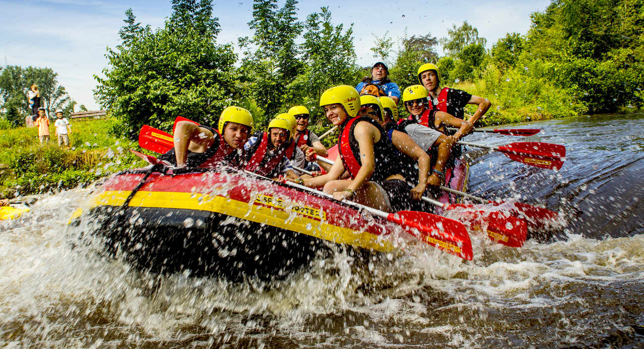 Rafting Touren in NRW