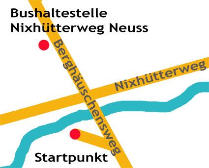 Zielpunkt Details Karte
