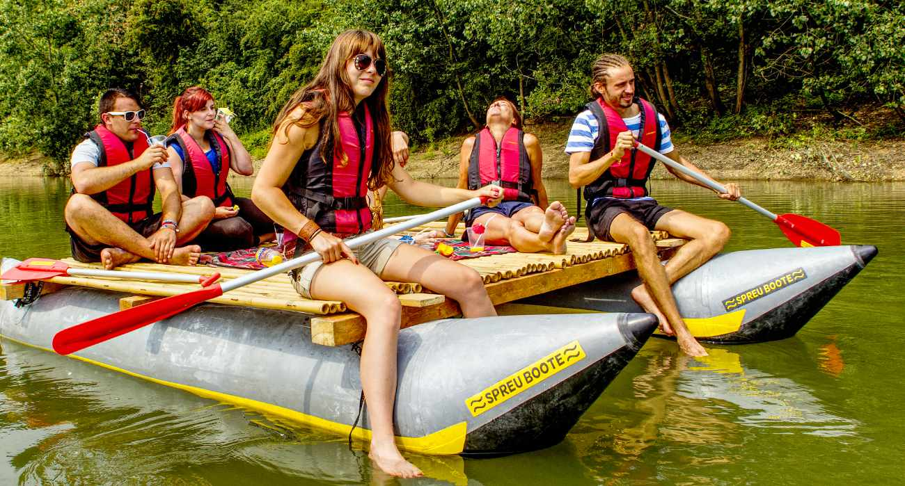 Familien Rafting Tour Ruhr