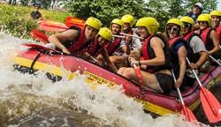 River Rafting, NRW, Wildwasser, Erft, Neuss bis Düsseldorf, für Gruppen ab 10 Personen