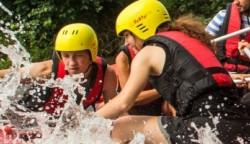 River Rafting, NRW, Wildwasser, Erft, Neuss bis Düsseldorf, für Einzelbucher und kleine Gruppen