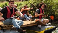 Erlebnis Projekt Floßbau für Schulklassen und Jugendgruppen in NRW
