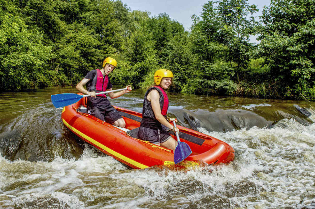 Ultra Rafting: maximale Action