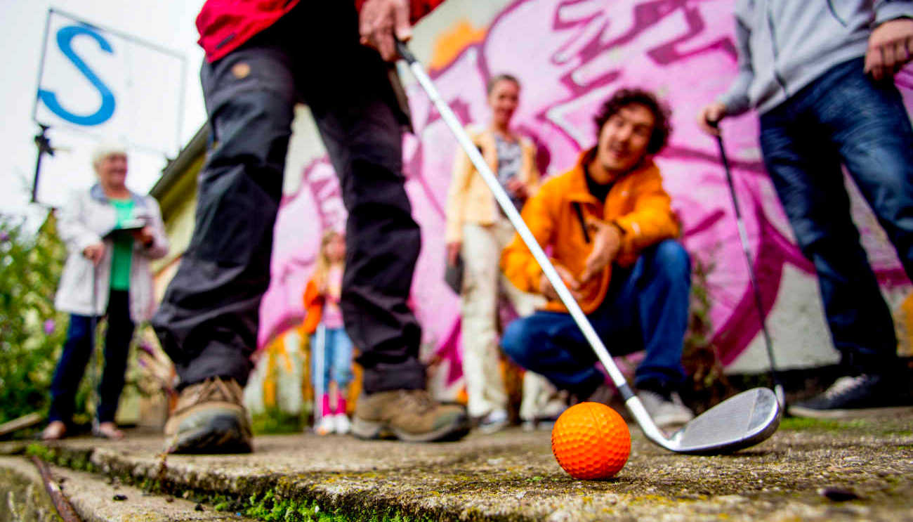 Urban Crossgolf Teamevent
